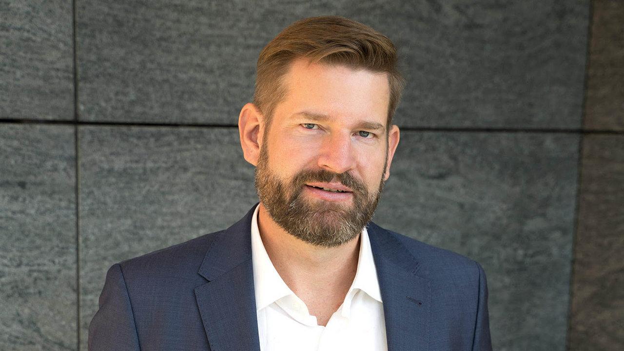 Odborník nainternetové bankovnictví společnosti Deloitte Štěpán Húsek.