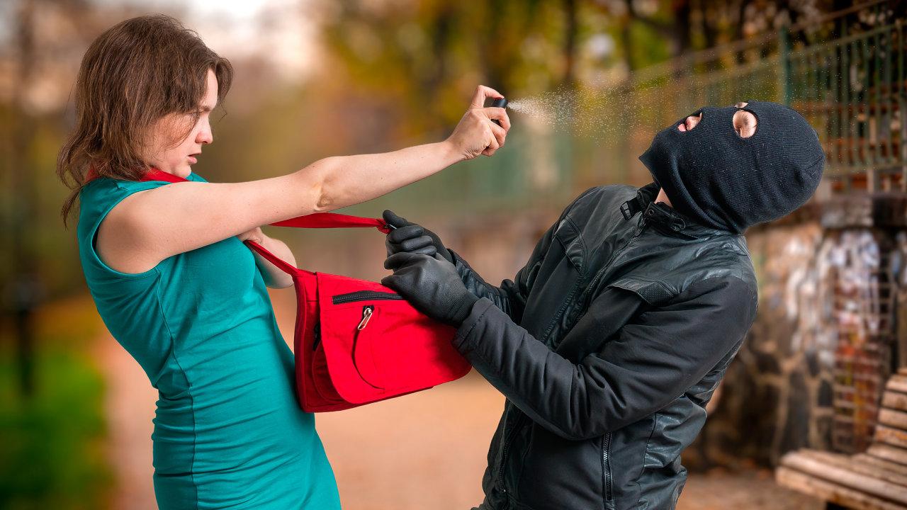 Nutná sebeobrana při napadení