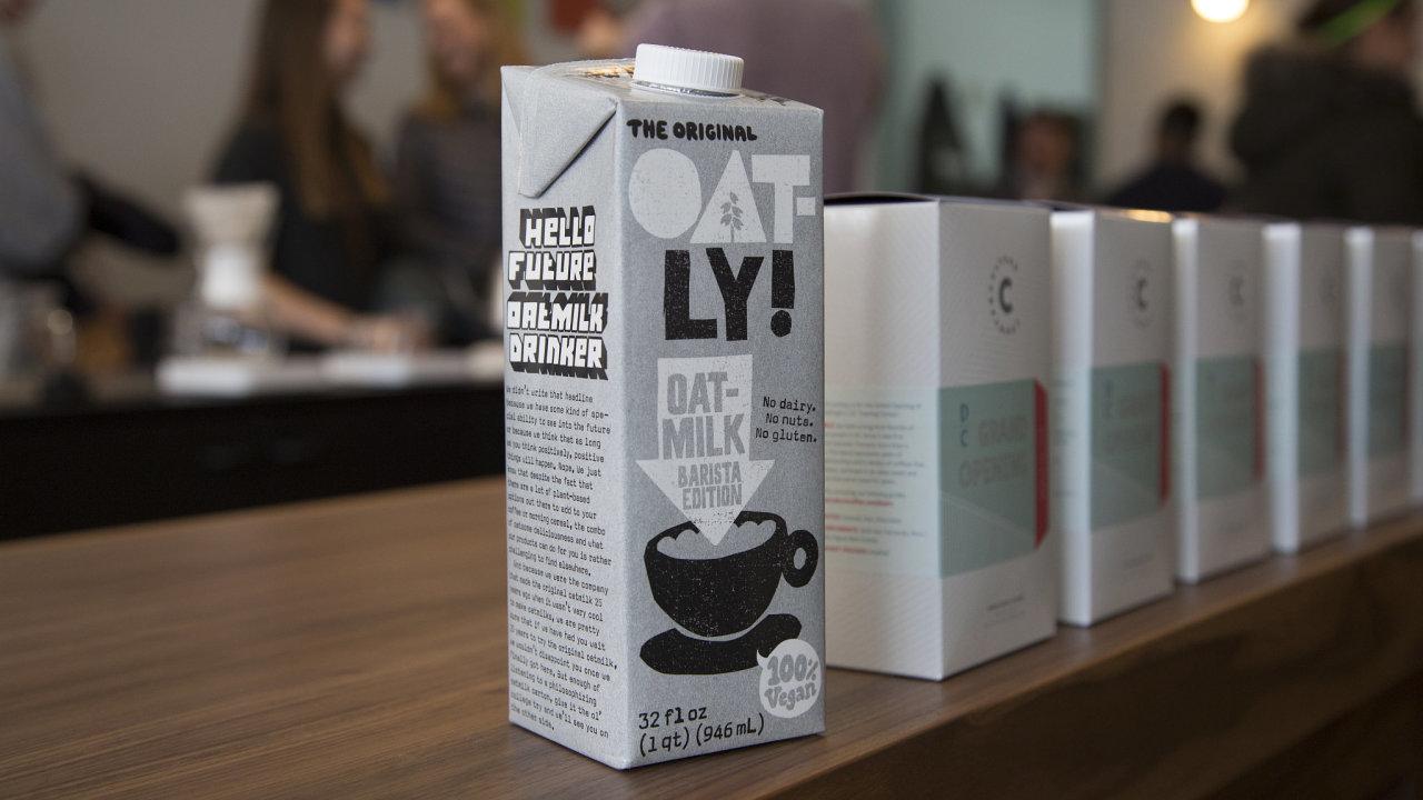 Na burzu má vstoupit švédská firma Oatly vyrábějící mléko z ovsa a další výrobky založené na této obilnině.
