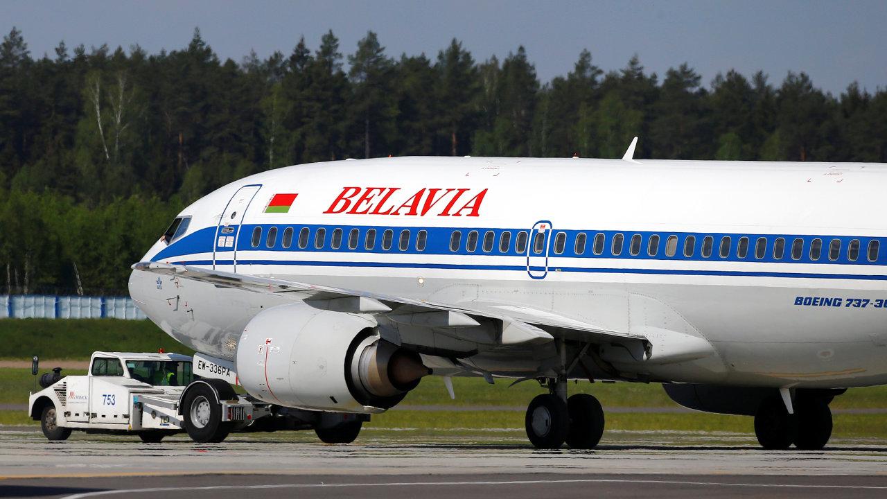 Běloruská letecká společnost Belavia