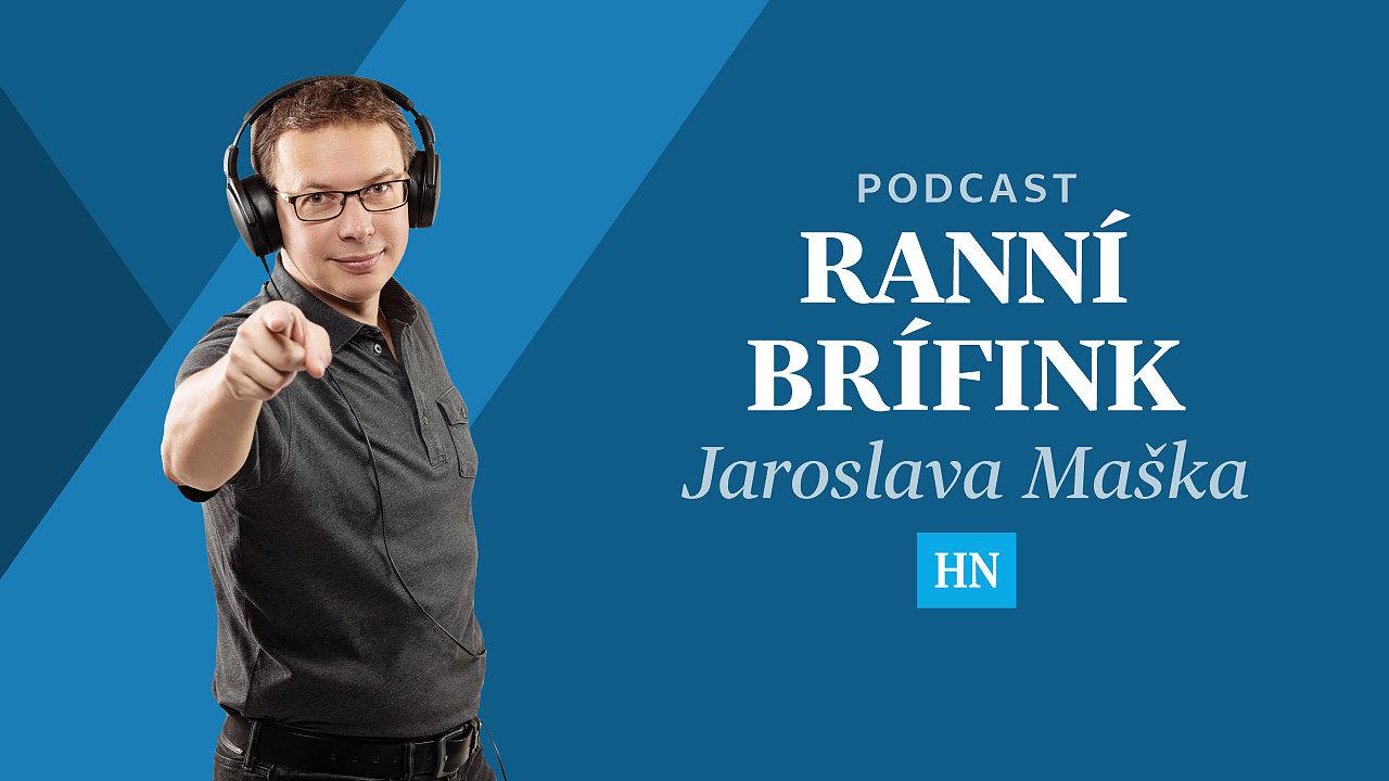 Ranní brífink Jaroslava Maška