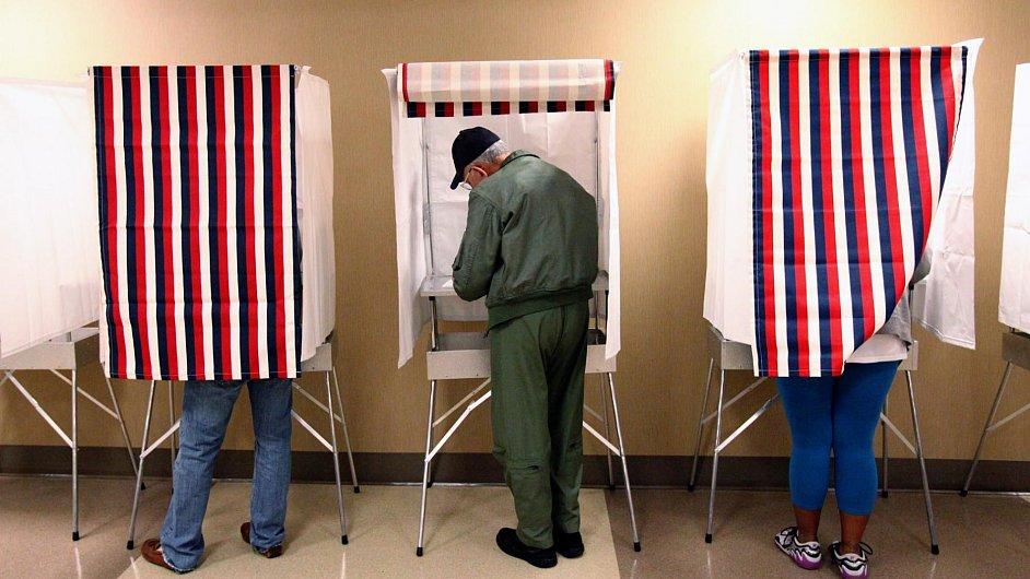 Volby v USA, ilustrační foto.