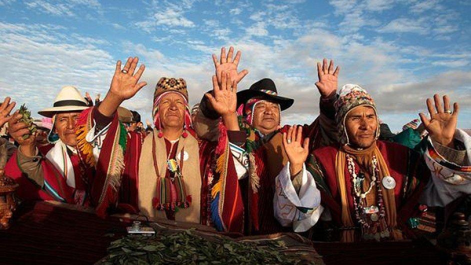 Bolívijci, ilustrační foto
