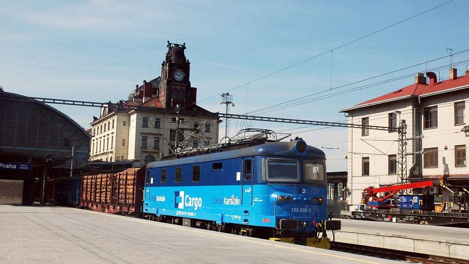 Nákladní vlak ČD Cargo (ilustrační foto)