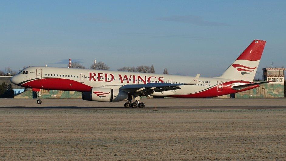 Letoun TU-204 společnosti Red Wings