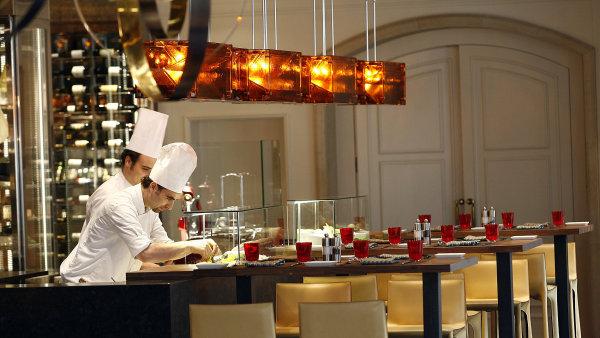 Restaurace CottoCrudo v hotelu Four Seasons Prague.