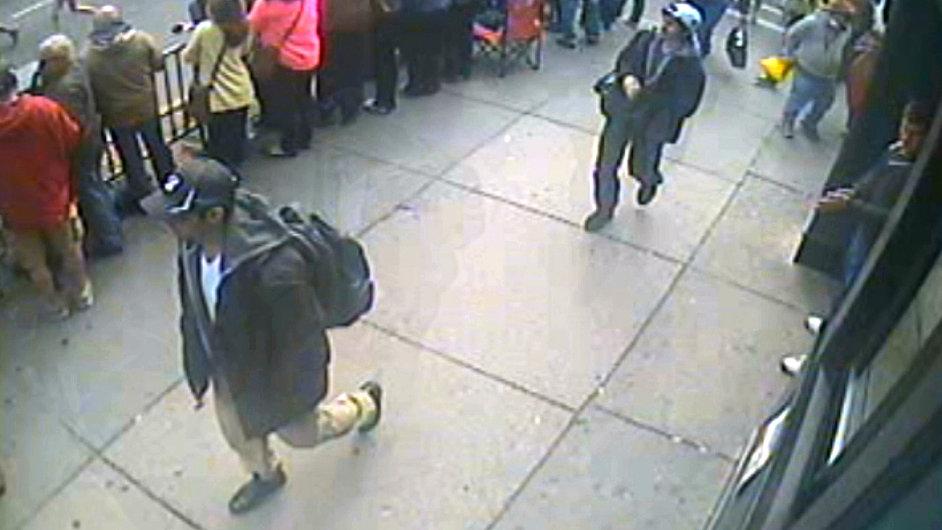 Podezřelý z útoku při bostonském maratonu.