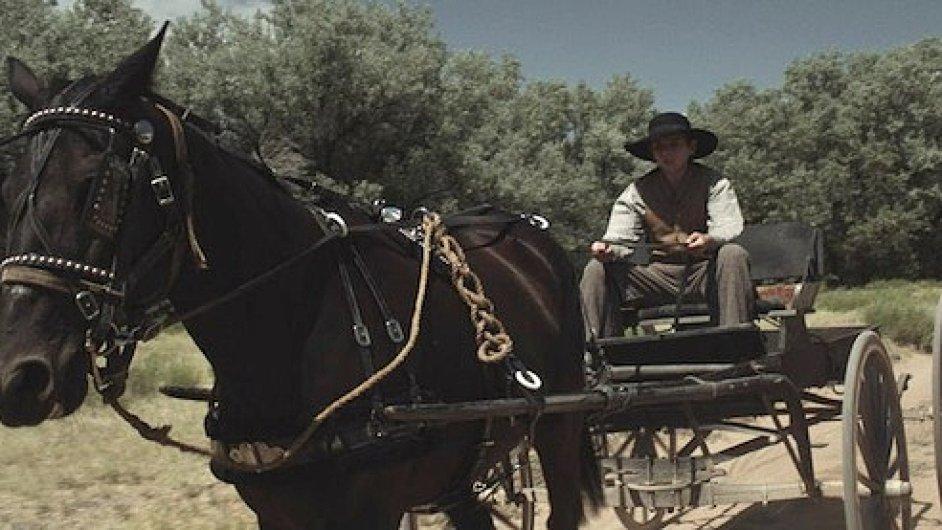 Santorumovým prvním filmem bude kovbojka o lupiči, který se polepší.