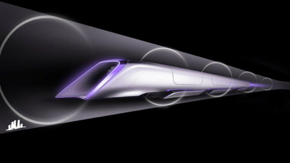 Hyperloop může podle vynálezce Muska jezdit už do deseti let.