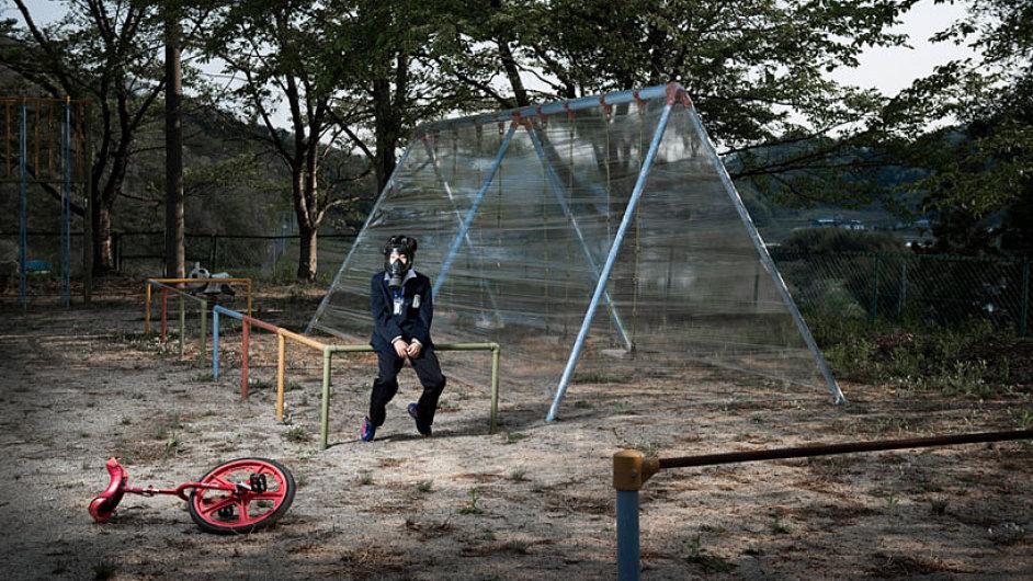 Fukušima: surrealistické fotografie zdevastované krajiny