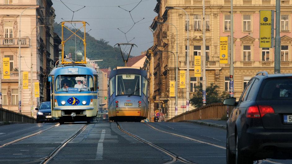 Informační tramvaj MHD
