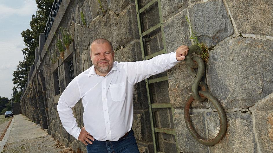 Jan Skalický, kandidát hnutí Pro Prahu.