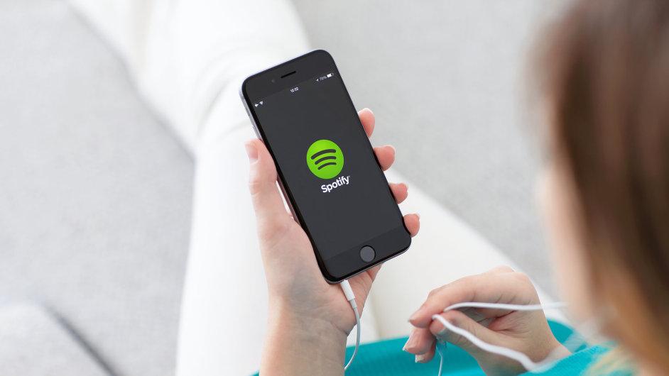 Internetová hudební společnost Spotify odložila vstup na ruský trh (ilustrační foto).
