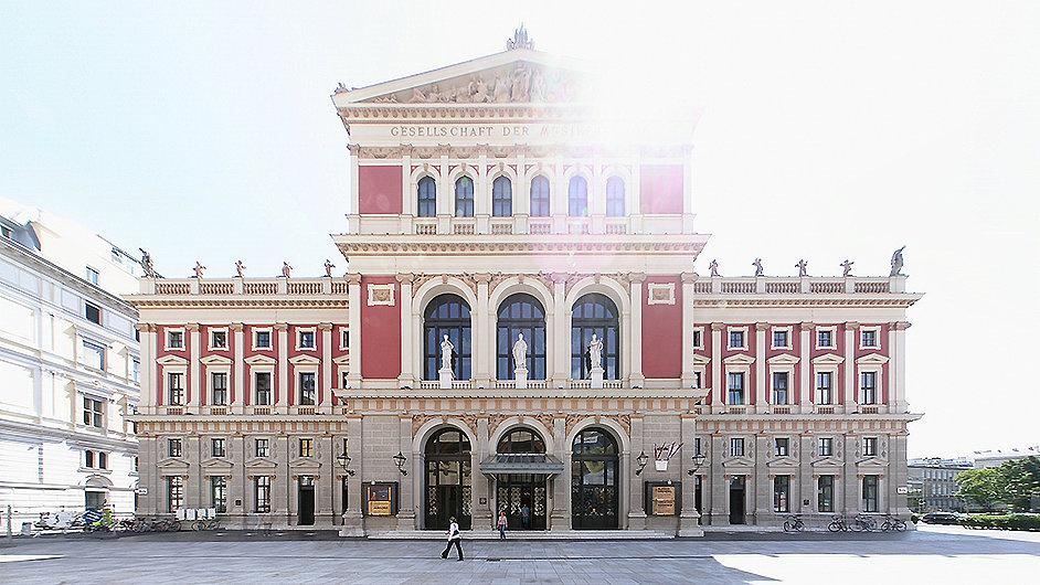 Musikverein ve Vídni patří k nejvýznamnějším evropským koncertním sálům.