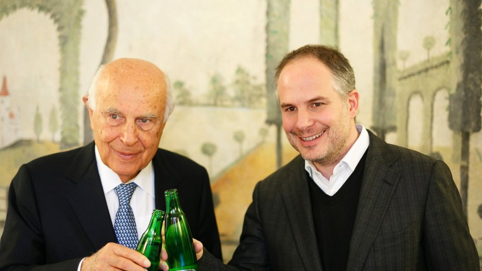 Antonio Pasquale (vlevo) a Alessandro Pasquale