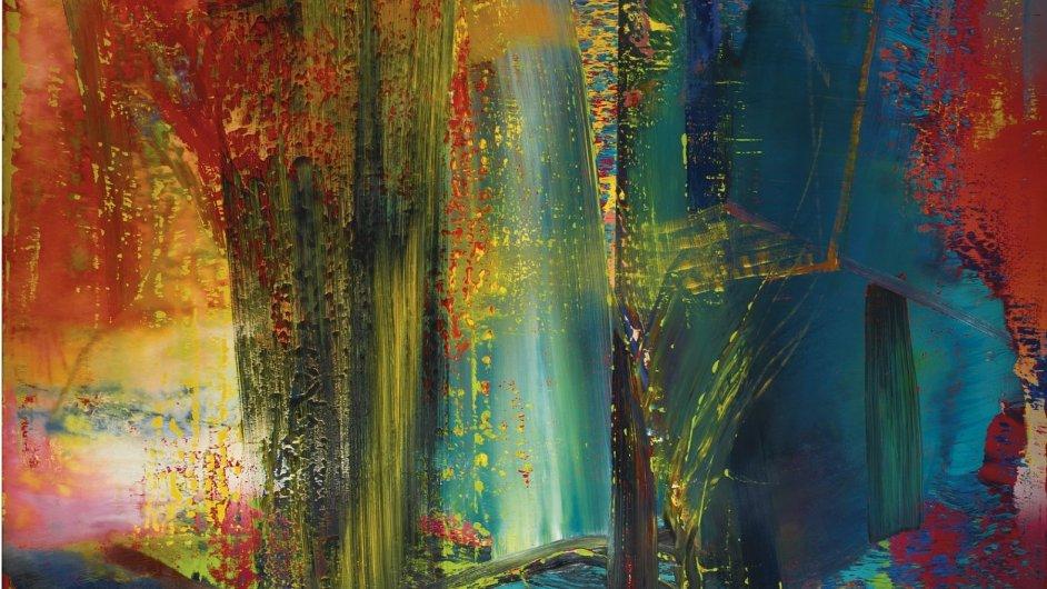 Richterův obraz Abstraktes Bild 599 se prodal za 41,2 milionu eur.