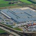 Hlavn� sklad n�hradn�ch d�l� automobilky BMW v bavorsk�m Dingolfing
