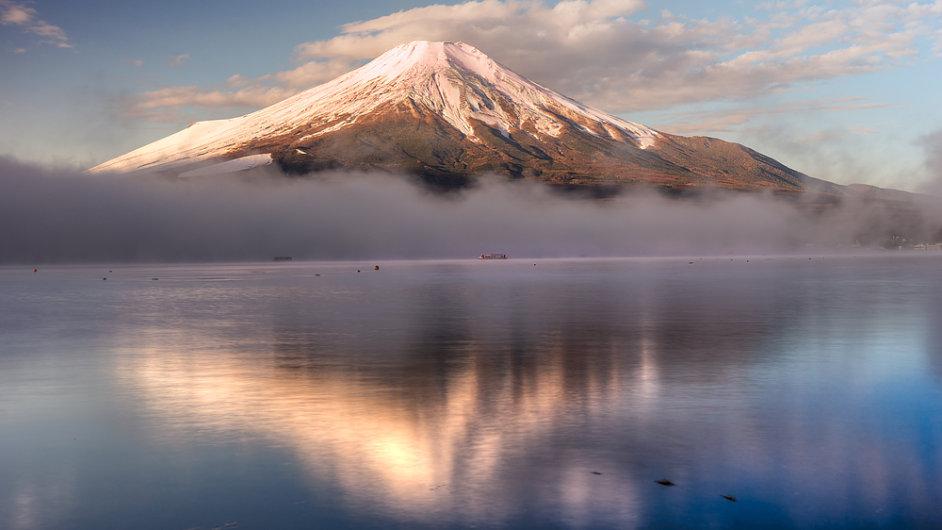 Je libo selfie? Hora Fudži je připojena k internetu. (ilustr. foto)