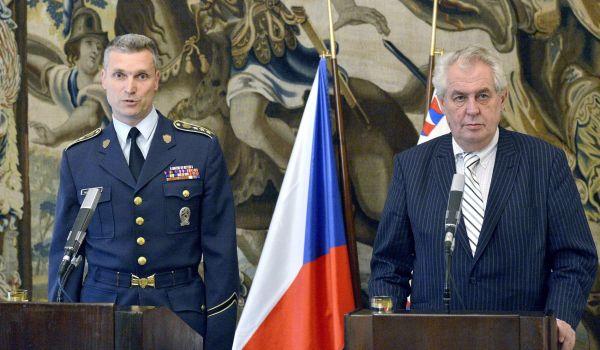 Radim Studený a Miloš Zeman