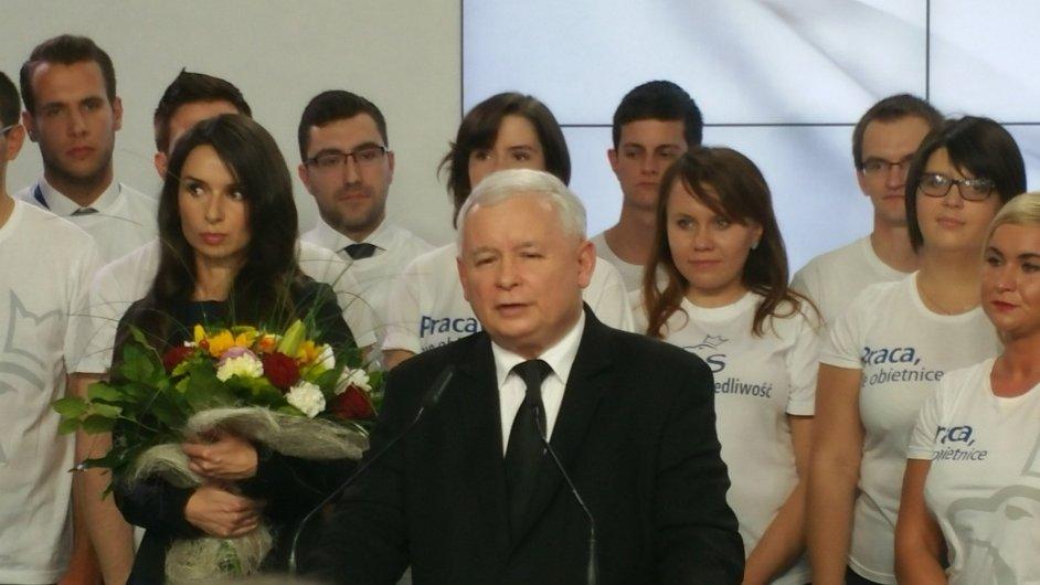 Sám Kaczyński nechce být premiérem, ale jako silný vůdce bude řídit stát