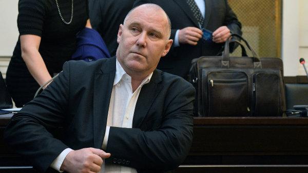 Vladimír Dbalý, hlavní podezřelý v kauze tunelování Nemocnice Na Homolce.