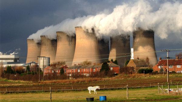 Elektrárna Eggborough patří do skupiny EPH - Ilustrační foto.
