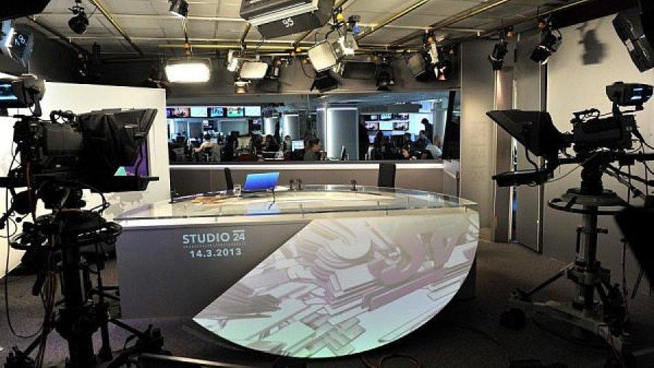 Česká televize - vysílací studio