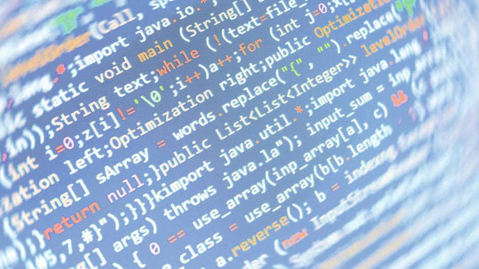 bezpečná data, šifrování, ilustrační obrázek