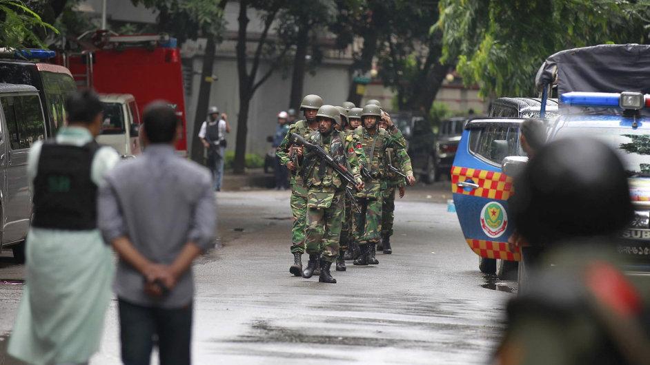 Útoky Bangladesh Dhaka
