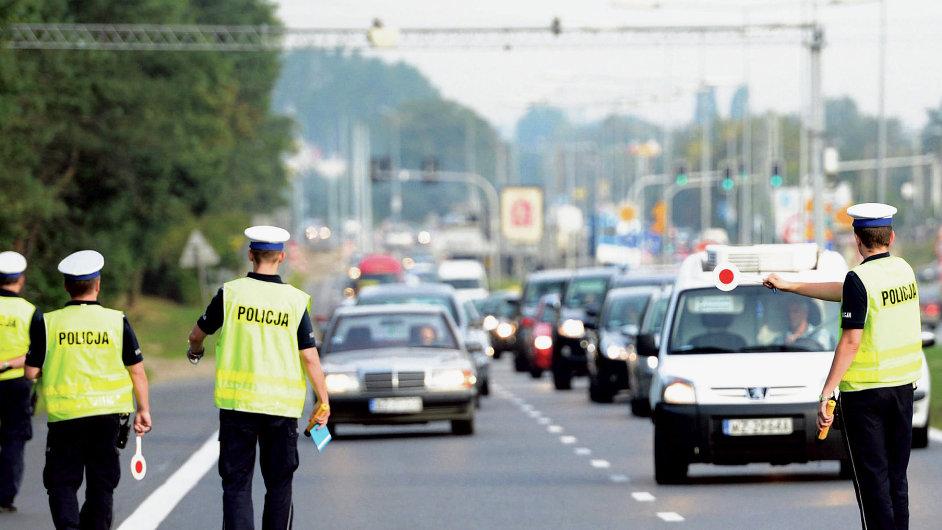 Zátah ve Varšavě