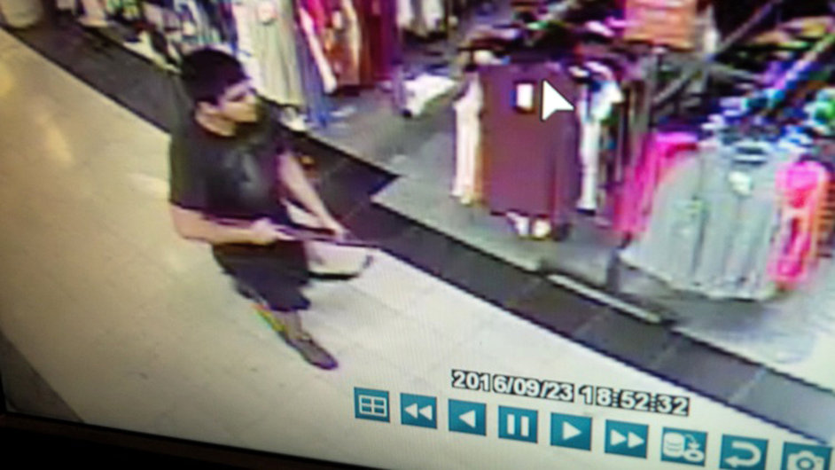 Střelec z burlingtonského obchodního centra.