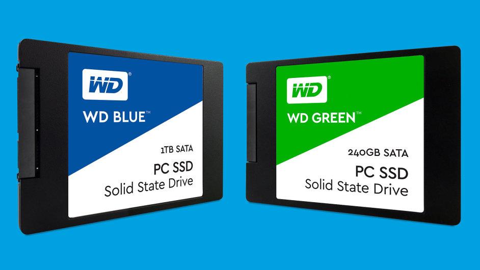 SSD úložiště pod značkou WD mají vyvážit pokles zájmu o klasické pevné disky