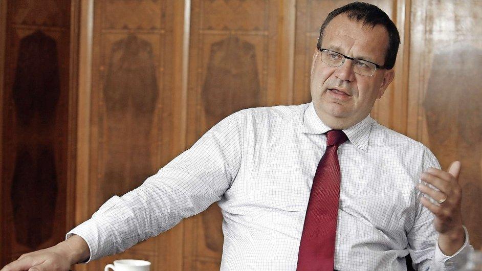 Ministr Jan Mládek.