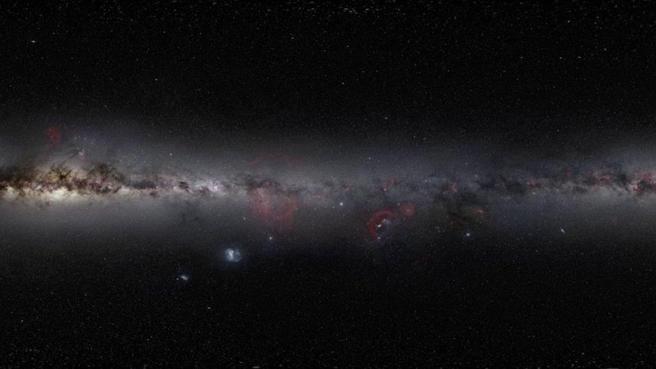 Teleskop zachytil hvězdný ohňostroj v souhvězdí Orion