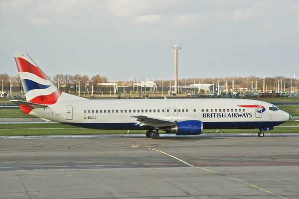 British Airways Boeing 737-400