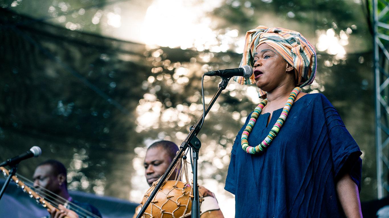 Snímek z festivalu Respect.