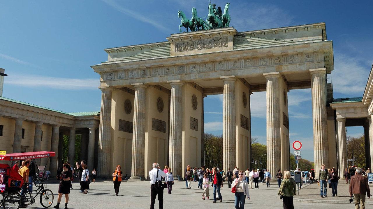 Německá ekonomika v letošním roce zpomalí, odhaduje spolkové ministerstvo hospodářství - Ilustrační foto.