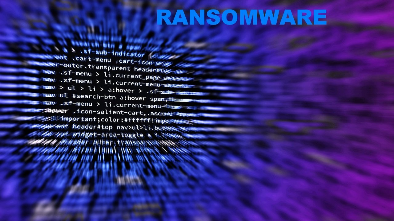 Ransomware, ilustrace