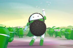 Android 8 je superhrdina se sušenkou Oreo na hrudi; jeho vláda nad světem je hodně vzdálená
