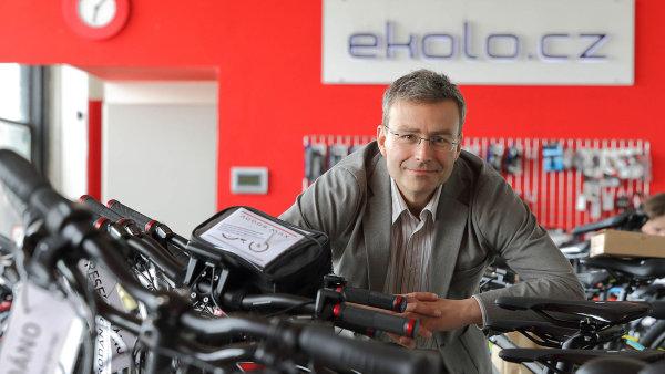 Zakladatel firmy Ekolo Jakub Ditrich.