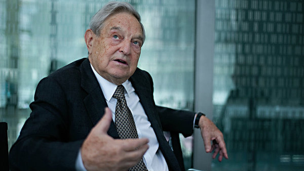 Soros novými miliardami posílil svoji nadaci Open Society.