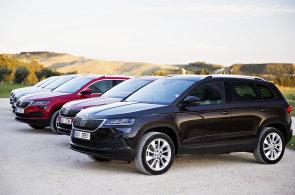 Škoda Auto začala prodávat své nové SUV Karoq. Nejlevnější model stojí více než půl milionu