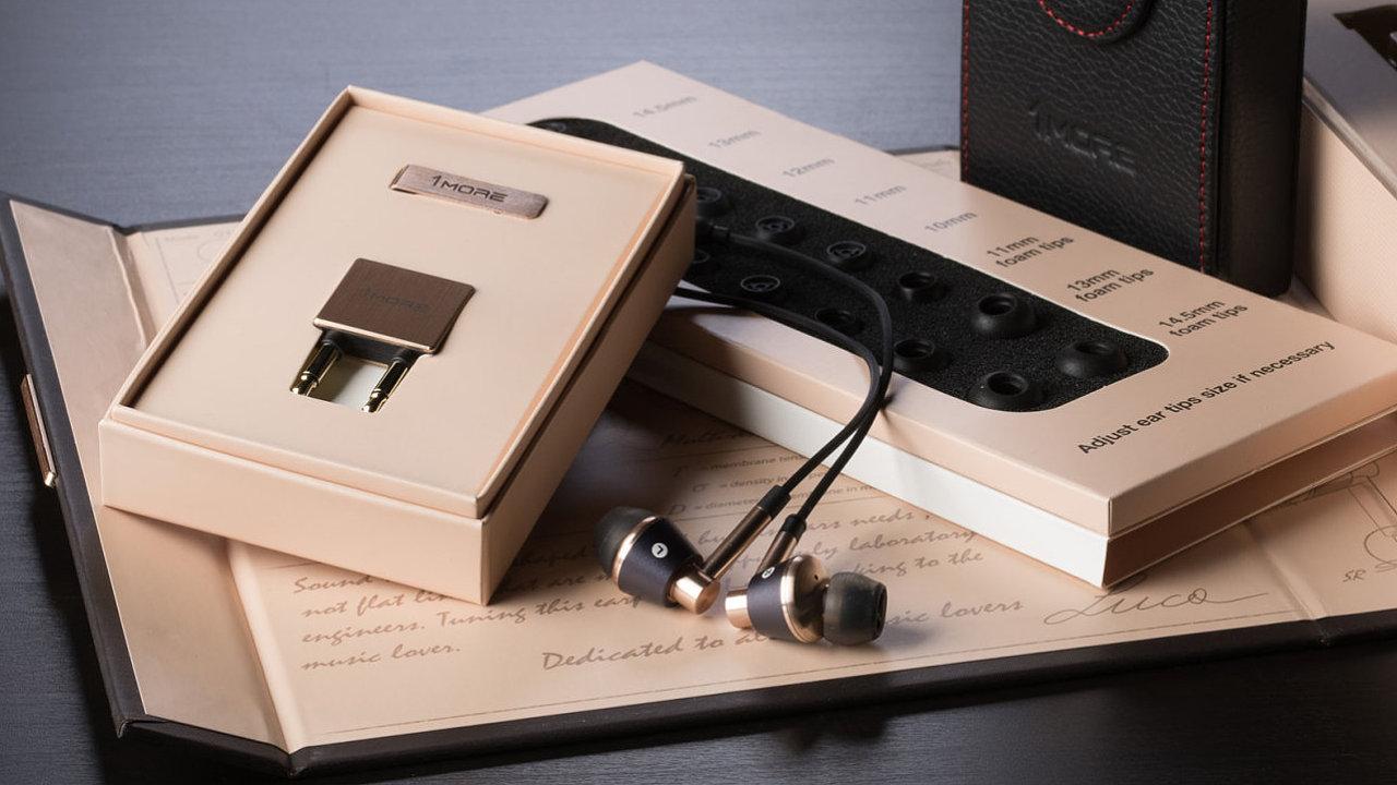 In-Ear sluchátka 1More Triple Driver mají bohatou výbavu