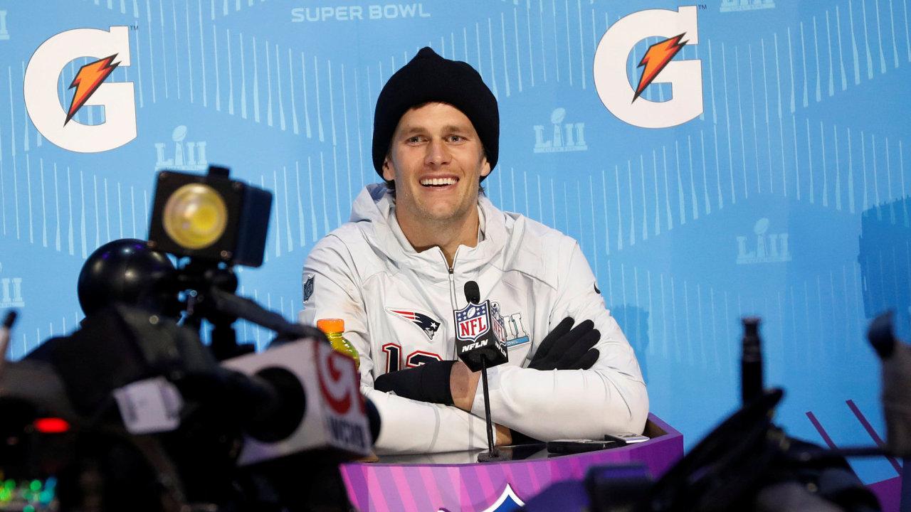 Quarterback New England Patriots Tom Brady