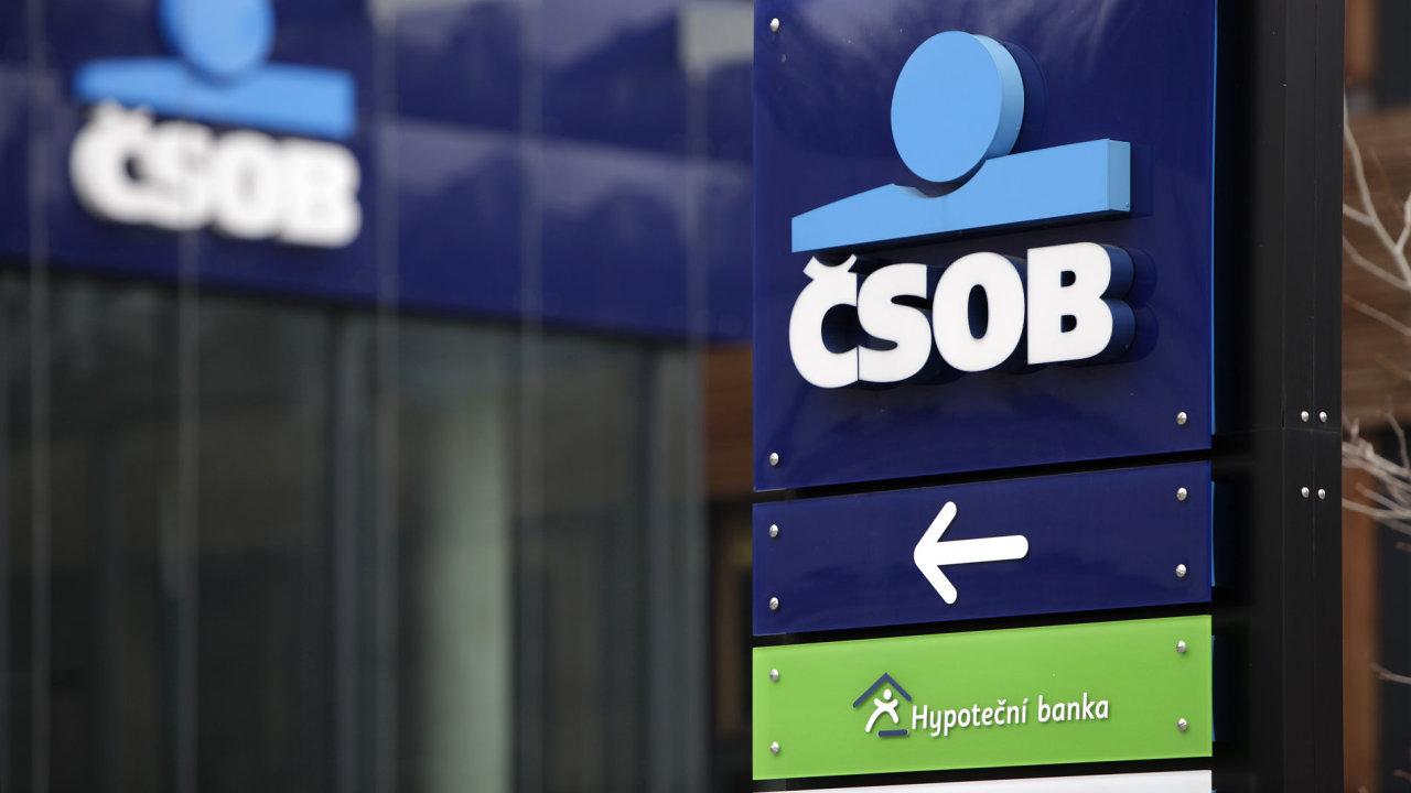 Své majitele loni nejvíce potěšila, stejně jako vpředchozím roce, banka ČSOB.