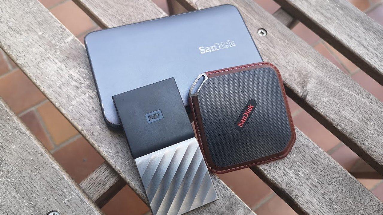 Externí SSD úložiště od WD