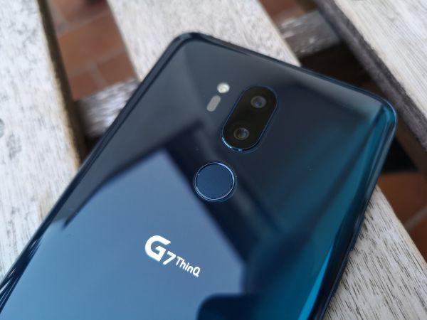 LG G7 ThinkQ má povedený design a něco navíc