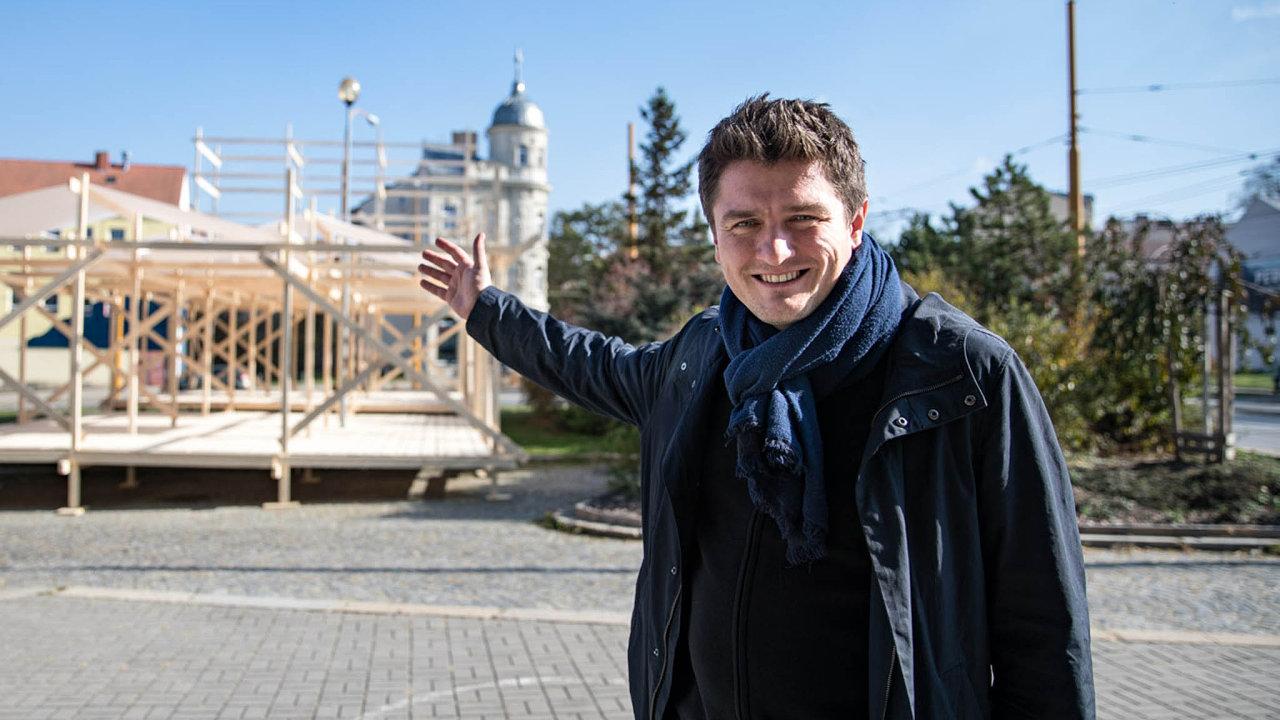 Marek Hovorka festival roku 1997 začínal organizovat ještě jako student jihlavského gymnázia.