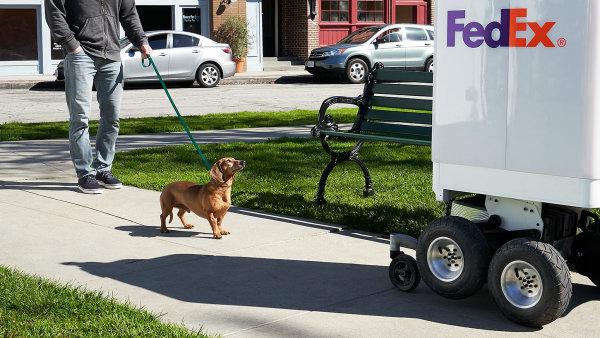 Firma Fedex představila svého doručovacího robota.