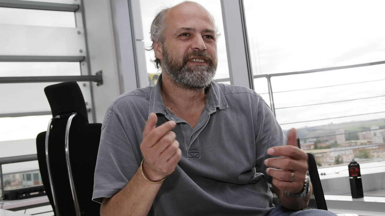 Nováček mezi českými dolarovými miliardáři Pavel Baudiš (na snímku z roku 2010), zakladatel společnosti Avast.
